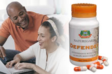 Swissgarde's Defender Capsules contains 5 powerful antioxidants