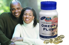 Omega plus contains: Four omega oils which are- Omega 3 6 9