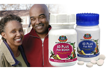 40 Plus for Men - N2,970 - Contains .1.Vitamin E,Saw palmetto, Pumpkin seed oil, Zinc, Lecithin.-